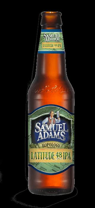Samuel Adams Latitude 48 IPA 12 Ounce Bottle